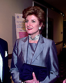 Arianna Huffington attends the 1999 White House Correspondents Dinner at the Washington Hilton Hotel in Washington, D.C. on May 1, 1999..Credit: Ron Sachs / CNP