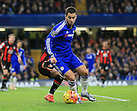 Chelsea's Eden Hazard in action <br /> <br /> Barclays Premier League - Chelsea v AFC Bournemouth - Stamford Bridge - England - 5th December 2015 - Picture David Klein/Sportimage