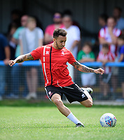 Lincoln City's Brandon Ormonde-Ottewill during the pre-match warm-up <br /> <br /> Photographer Chris Vaughan/CameraSport<br /> <br /> Football - Pre-Season Friendly - Lincoln United v Lincoln City - Saturday 8th July 2017 - Sun Hat Villas Stadium - Lincoln<br /> <br /> World Copyright &copy; 2017 CameraSport. All rights reserved. 43 Linden Ave. Countesthorpe. Leicester. England. LE8 5PG - Tel: +44 (0) 116 277 4147 - admin@camerasport.com - www.camerasport.com