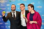 """©www.agencepeps.be/ F.Andrieu - Belgique -Bruxelles - 140201 - Les Magrittes du cinéma ont récompensé comme chaque année les professionnels du cinéma belge. Belgium ciné awards the """"Magritte of the cinema"""""""