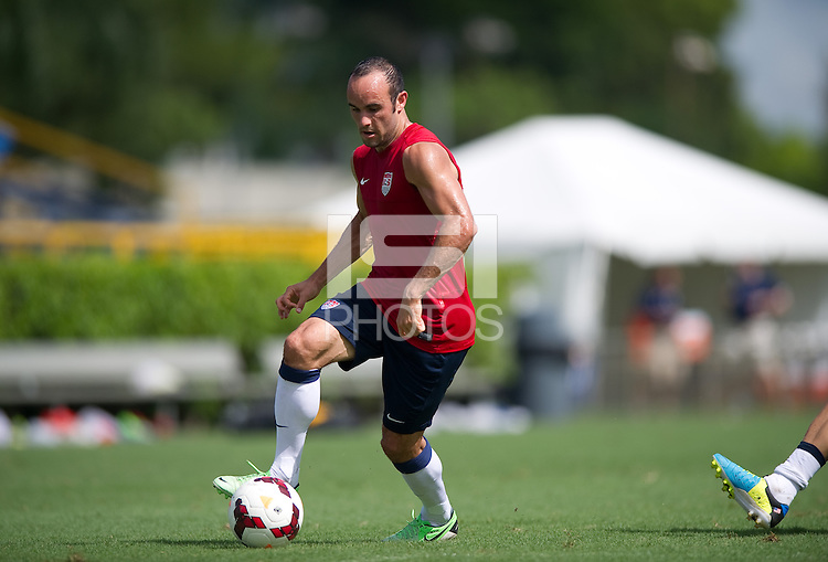 Miami, Fl - Tuesday, September 3, 2013: The USMNT practices before it's WC Qualifying match with Costa Rica.