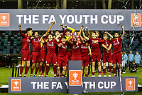 Manchester City U18 v Liverpool U18 - FA Youth Cup - 25.04.2019