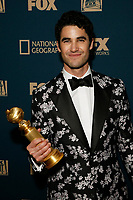 Beverly Hills, CA - JAN 06:  Darren Criss attends the FOX, FX, and Hulu 2019 Golden Globe Awards After Party at The Beverly Hilton on January 6 2019 in Beverly Hills CA. <br /> CAP/MPI/IS/CSH<br /> &copy;CSHIS/MPI/Capital Pictures