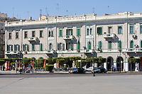 Tripoli, Libya - Architecture from Italian Colonial Era Borders Green Square.