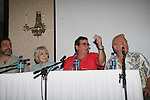 Frank Basile - husband of Celeste, Celeste Holm - Loving, Joel Blumberg, Johnny Whitaker - GH's Scotty Baldwin & Family Affair at 4th Annual Mid-Atlantic Nostalgia Convention in Aberdeen, Maryland. (Photo by Sue Coflin/Max Photos)