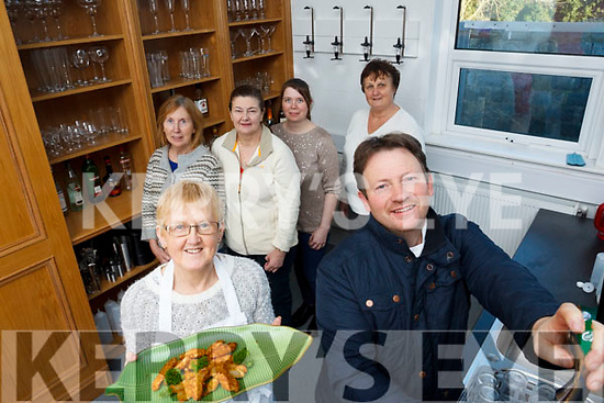 Launching the Bar Keeping course at the An Tochar Education Centre on Friday last. Front, Helena Carmody and John Casey. Back l to r: Assumpta Dore, Bernie O'Callaghan, Mary Griffin & Brenda Stack.