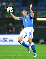 Fussball International  WM Qualifikation 2014   Italien - Daenemark                16.10.2012 Giorgio Chiellini (Italien)