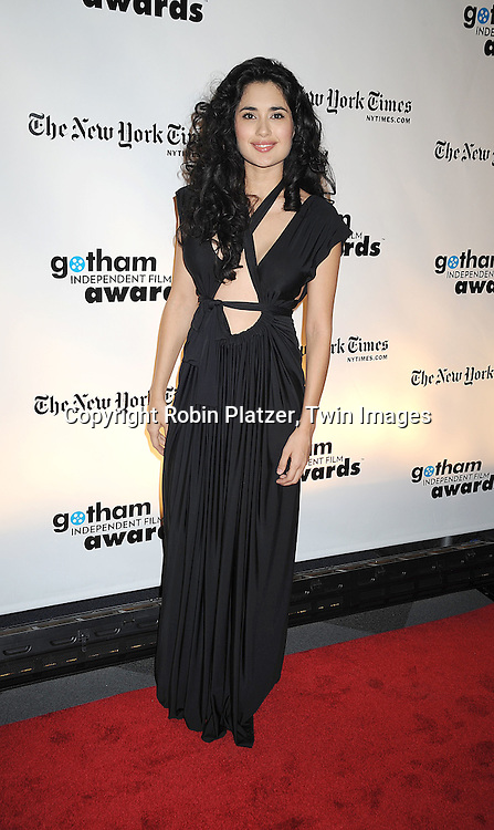 actress Veronica Loren..posing for photographers at the 18th Annual Gotham Independent Film Awards on December 2, 2008 in New York. ....Robin Platzer, Twin Images