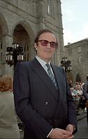 Funerailles de Jean Drapeau, le 13 aout 1999<br /> a la Basilique Notre-Dame.<br /> <br /> PHOTO :  Agence Quebec Presse