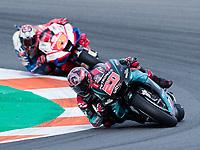 MotoGP race of Valencia 2019 at  Ricardo Tormo circuit on November 17, 2019.<br /> FABIO QUARTARARO