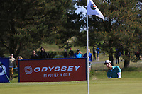 Matthew Jordan (ENG) on the 4th green during Round 4 of the Betfred British Masters 2019 at Hillside Golf Club, Southport, Lancashire, England. 12/05/19<br /> <br /> Picture: Thos Caffrey / Golffile<br /> <br /> All photos usage must carry mandatory copyright credit (© Golffile | Thos Caffrey)