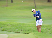 PATTAYA, THAILAND - FEBRUARY 22: Suzuka Yamaguchi of Japan pitching onto the 18th green during the second round of the Honda LPGA Thailand 2019 at Siam Country Club Pattaya (Old Course), Pattaya, Thailand on February 22, 2019.<br /> .<br /> .<br /> .<br /> (Photo by: Naratip Golf Srisupab/SEALs Sports Images)<br /> .<br /> Any image use must include a mandatory credit line adjacent to the content which should read: Naratip Golf Srisupab/SEALs Sports Images