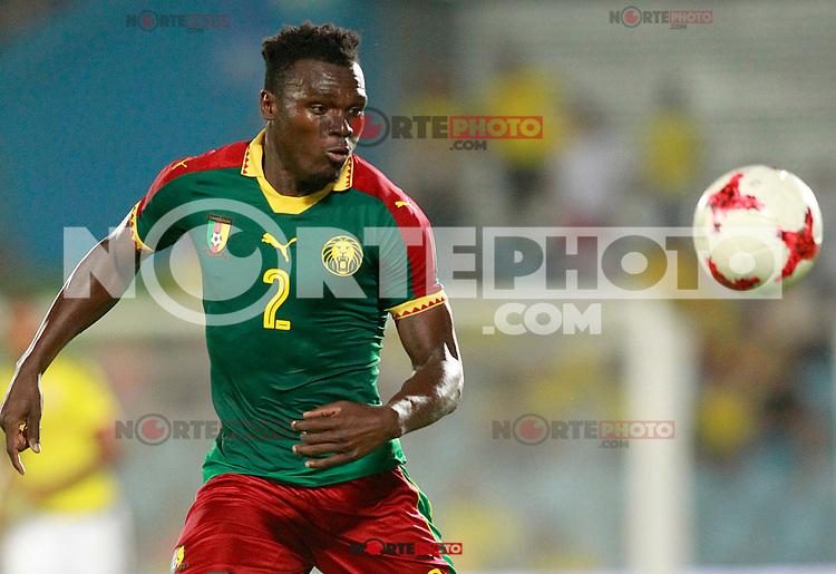 Cameroon's Ernes Mabouka during international friendly match. June 13,2017.(ALTERPHOTOS/Acero) (NortePhoto.com) (NortePhoto.com)