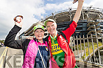 John and Joan Keane, Listowel, pictured at the All-Ireland football semi-final Kerry v Dublin in Croke Park on Sunday.