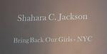 Shahara C. Johnson - BBG NYC - Bring Back Our Girls - 500 Days on August 27, 2015 - New York City, New York (Photo by Sue Coflin/Max Photos)