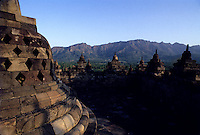 Images from the Book Journey Through Color and Time,the famous temples at Borubadur near Jogjakarta Indonesia
