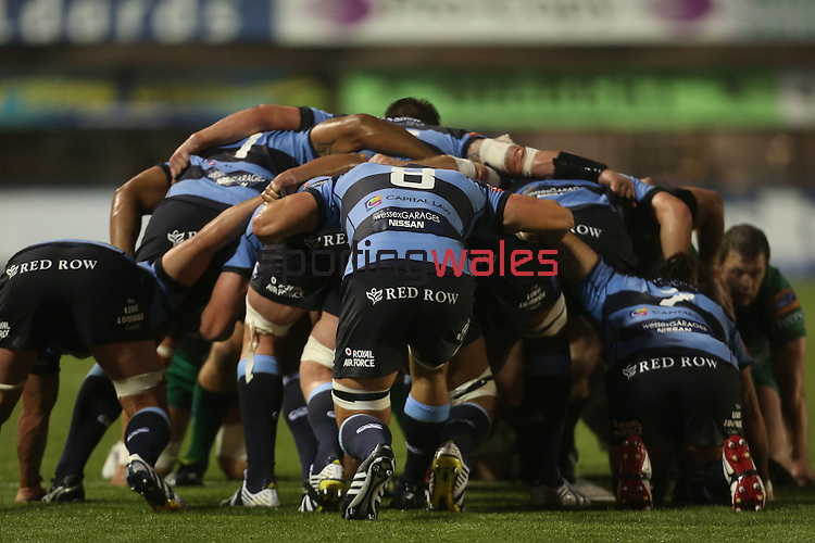 RaboDirect Pro 12<br /> Cardiff Blues v Connacht<br /> Cardiff Arms Park<br /> 13.09.13<br /> <br /> ©Steve Pope-SPORTINGWALES