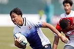 Rikiya Oishi (JPN), <br /> AUGUST 30, 2018 - Rugby : <br /> Men's Group B match <br /> between Japan 92-0 Idonesia <br /> at Gelora Bung Karno Rugby Field <br /> during the 2018 Jakarta Palembang Asian Games <br /> in Jakartan, Idonesia. <br /> (Photo by Naoki Morita/AFLO SPORT)