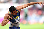 Oleksiy KASYANOV (UKR) in the mens decathlon shot put. IAAF world athletics championships. London Olympic stadium. Queen Elizabeth Olympic park. Stratford. London. UK. 11/08/2017. ~ MANDATORY CREDIT Garry Bowden/SIPPA - NO UNAUTHORISED USE - +44 7837 394578
