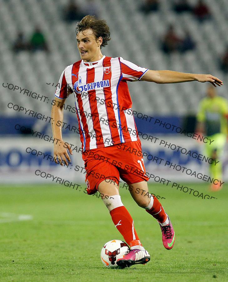 Fudbal UEFA Europa League season 2013-2014<br /> Crvena Zvezda Vs. Cernomorec (Odessa)<br /> Nejc Pecnik<br /> Beograd, 08.08.2013.<br /> foto: Srdjan Stevanovic/Starsportphoto &copy;