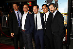 LOS ANGELES, CA - FEB 16: Ken Marino, David Wain, Paul Rudd, Justin Theroux,  Judd Apatow at the premiere of Universal Pictures' 'Wanderlust' held at Mann Village Theatre on February 16, 2012 in Los Angeles, California