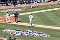 Masahiro Tanaka (Yankees),<br /> APRIL 6, 2015 - MLB : Masahiro Tanaka (19) of the New York Yankees walks to the pitcher's mound during the Major League Baseball game (Yankees home opener) agaisnt the Toronto Blue Jays at Yankee Stadium in Bronx, New York, USA.<br /> (Photo by Thomas Anderson/AFLO) (JAPANESE NEWSPAPER OUT)