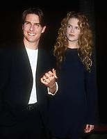 Tom Cruise, Nicole Kidman, 1993, Photo By Michael Ferguson/PHOTOlink