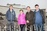 Pictured at the Open Day in Cromwell Point Lighthouse Valentia on Sunday were l-r; Brian, Bridie, John & Fionán Falvey.