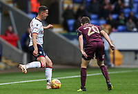 Bolton Wanderers' Pawel Olkowski competing with Swansea City's Daniel James<br /> <br /> Photographer Andrew Kearns/CameraSport<br /> <br /> The EFL Sky Bet Championship - Bolton Wanderers v Swansea City - Saturday 10th November 2018 - University of Bolton Stadium - Bolton<br /> <br /> World Copyright © 2018 CameraSport. All rights reserved. 43 Linden Ave. Countesthorpe. Leicester. England. LE8 5PG - Tel: +44 (0) 116 277 4147 - admin@camerasport.com - www.camerasport.com