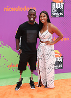 LOS ANGELES, CA July 13- Blake Leeper, Guest, At Nickelodeon Kids' Choice Sports Awards 2017 at The Pauley Pavilion, California on July 13, 2017. Credit: Faye Sadou/MediaPunch