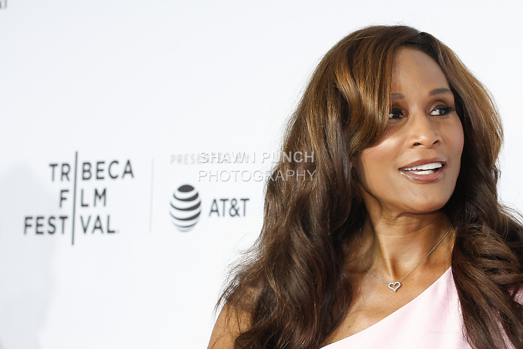 "Beverly Johnson arrives at the Clive Davis: ""The Soundtrack Of Our Lives"" world premiere for the Opening Night of the 2017 TriBeCa Film Festival on April 19, 2017 at Radio City Music Hall."