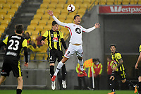 Western Sydney Wanderers FC&rsquo;s Oriol Riera in action during the A-League - Wellington Phoenix v Western Sydney Wanderers at Westpac Stadium, Wellington, New Zealand on Saturday 3 November  2018. <br /> Photo by Masanori Udagawa. <br /> www.photowellington.photoshelter.com