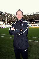 Pictured: Swansea City footballer Mark Gower at Libery Stadium, Swansea. South Wales. Thursday 04 December 2008.<br />