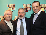 Alan Menken, Robert De Niro, Chazz Palminteri attend the Broadway Opening Night After Party for 'A Bronx Tale' at The Marriot Marquis Hotel on December 1, 2016 in New York City.