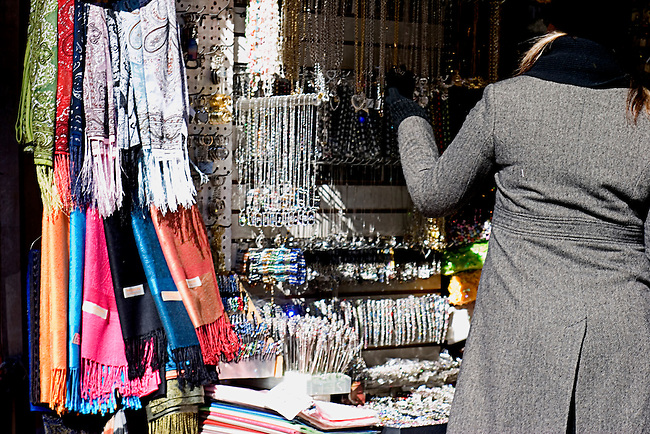 Outdoor Shopping on Canal Street, New York, New York