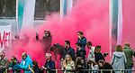 ALMERE - Hockey - Hoofdklasse competitie heren. ALMERE-HGC (0-1) . Supporters (Almere)  , Allyminati-army  COPYRIGHT KOEN SUYK