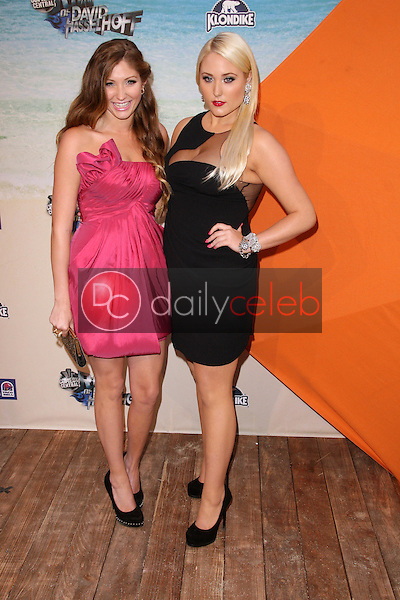 Taylor-Ann Hasselhoff and Hayley Hasselhoff<br /> at the Comedy Central Roast of David Hasselhoff, Sony Studios, Culver City, CA. 08-01-10<br /> David Edwards/DailyCeleb.com 818-249-4998