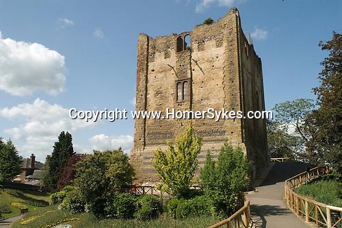 Guildford Castle. Guildford Surrey UK.