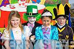 .Jade, Harry Potts, Fiona Galvin and Neil O'Shea on the Dr Crokes float at the Killarney St Patricks parade on Thursday.