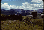 D&amp;RGW #484 K-36 excursion train at Osier. Tank to right.<br /> D&amp;RGW  Osier, CO