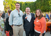 Alumni, family and friends of the class of 1965 have fun at Occidental College's annual Alumni Reunion on Saturday, June 13, 2015 at Keck Theater.<br /> (Photo by Marc Campos, Occidental College Photographer)