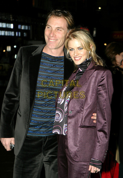 DAMIAN ASPINALL & DONNA AIR.The Lord Of The Rings: The Return Of The King UK premiere, Odeon Leicester Square.11 December 2003.www.capitalpictures.com.sales@capitalpictures.com.© Capital Pictures.