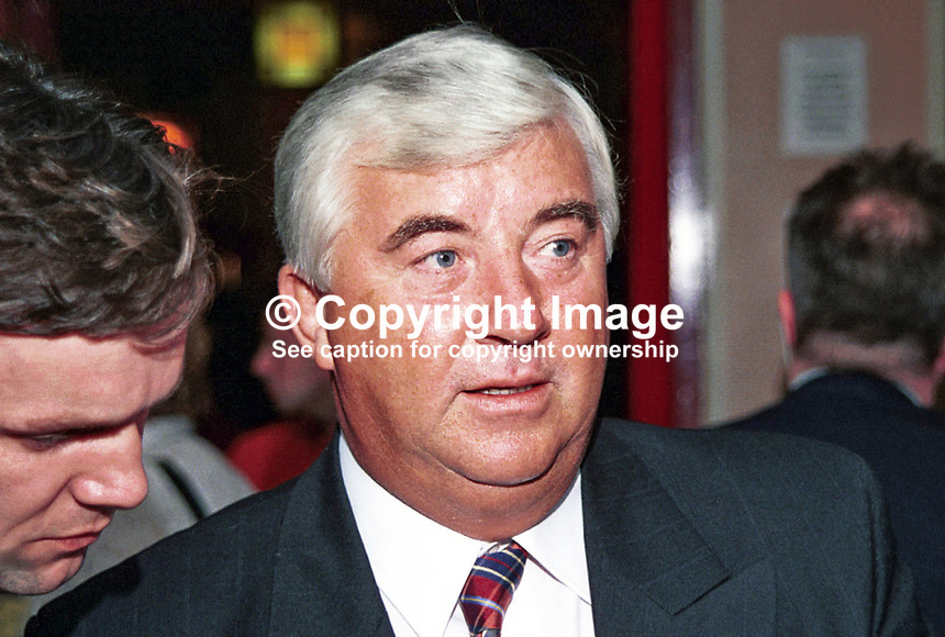 Peter Kilfoyle, MP, Labour Party, Britain, UK, 1996, Annual Conference, 199610175.<br />