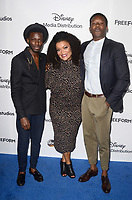 LOS ANGELES - MAY 21:  Bernard David Jones, Yvette Nicole Brown, Brandon Micheal Hall at the 2017 ABC/Disney Media Distribution International Upfront at the Walt Disney Studios on May 21, 2017 in Burbank, CA