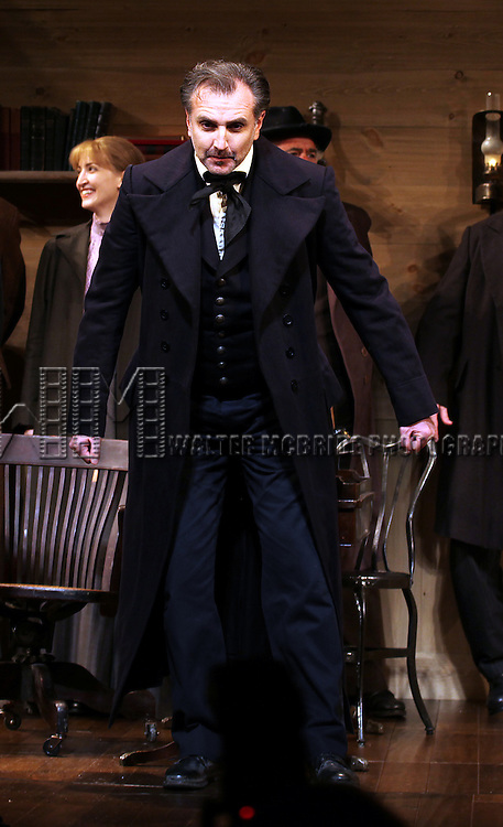 Randall Newsome during the Broadway Opening Night Performance Curtain Call for  'An Enemy of the People' at the Samuel J. Friedman Theatre in New York. Sept. 27, 2012