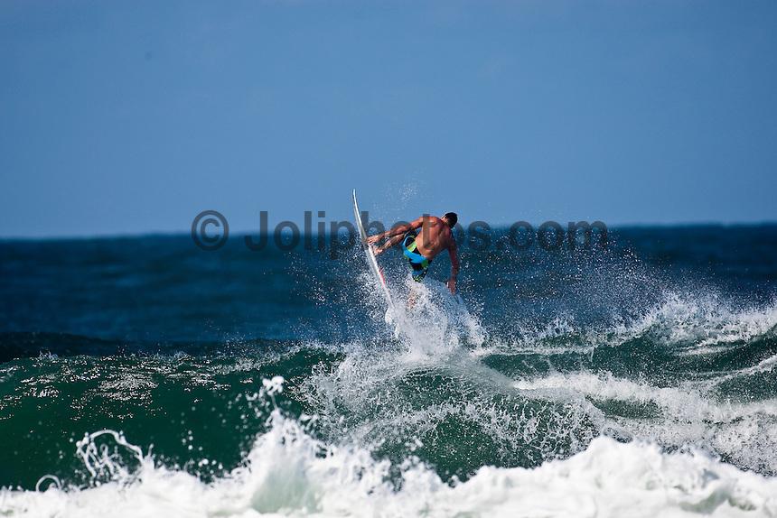 Joel Parkinson (AUS) surfing at D-Bah, Coolangatta , Queensland, Australia.  Photo: joliphotos.com