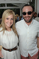 Lindsay Berger Sacks, Oliver Furth==<br /> LAXART 5th Annual Garden Party Presented by Tory Burch==<br /> Private Residence, Beverly Hills, CA==<br /> August 3, 2014==<br /> ©LAXART==<br /> Photo: DAVID CROTTY/Laxart.com==