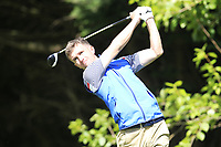 Sean Flanagan  during the final round of the Munster Stroke play Championship, which is part of the Bridgestone order of Merit series at  Cork Golf Club, Cork, Ireland. 05/05/2019.<br /> Picture Fran Caffrey / Golffile.ie<br /> <br /> All photo usage must carry mandatory copyright credit (© Golffile | Fran Caffrey)