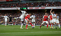 Arsenal's Alexis Sanchez gets in a shot<br /> <br /> Photographer Rob Newell/CameraSport<br /> <br /> The Premier League - Arsenal v Sunderland - Tuesday May 16th 2017 - Emirates Stadium - London<br /> <br /> World Copyright &copy; 2017 CameraSport. All rights reserved. 43 Linden Ave. Countesthorpe. Leicester. England. LE8 5PG - Tel: +44 (0) 116 277 4147 - admin@camerasport.com - www.camerasport.com