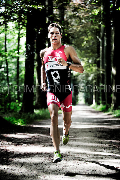 Belgian triathlon athlete and former Belgian champion Simon De Cuyper (Belgium, 28/06/2012)